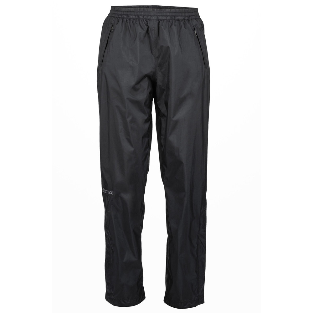 Rain pants make a good addition to a rain jacket. These rain pants are the Marmot Women's Precip rain pants.